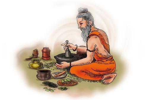Panchakarma-Kur in Indien